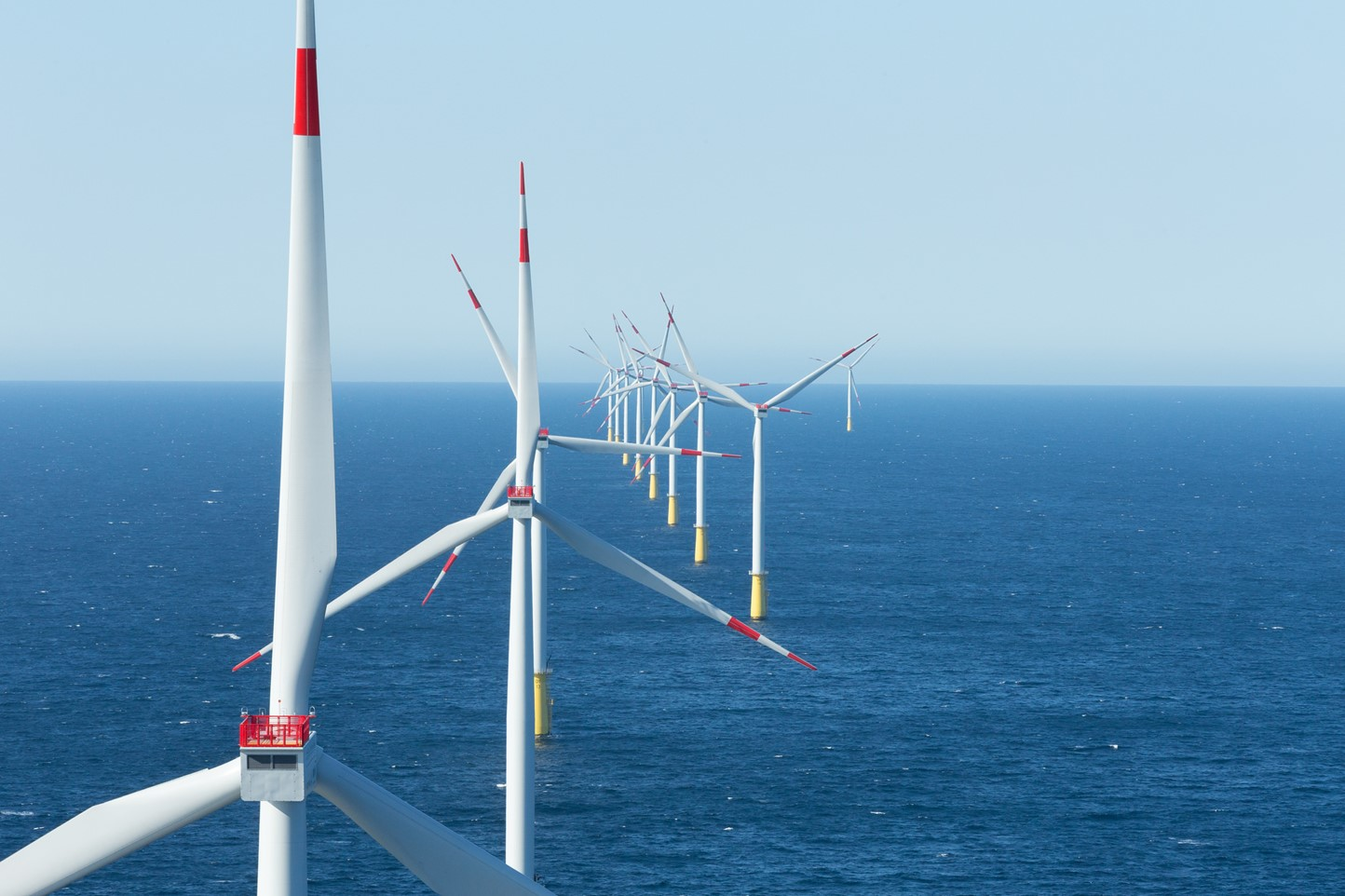 Windpark op zee | Vattenfall over windenergie